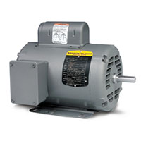 Baldor-Reliance Single Phase Open AC Motor