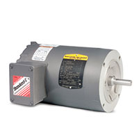 Baldor-Reliance Three Phase Enclosed AC Motor - 6