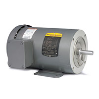 Baldor-Reliance Three Phase Enclosed AC Motor - 7