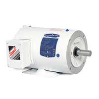 Baldor-Reliance White Washdown AC Motor