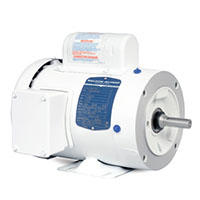 Baldor-Reliance White Washdown AC Motor - 2