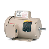 Baldor-Reliance Premium Efficient Farm Duty AC Motor - 4
