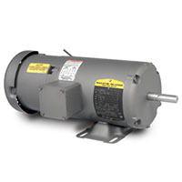 Baldor-Reliance Short-Series Brake AC Motor