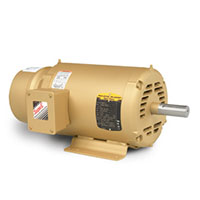 Baldor-Reliance Short-Series Brake AC Motor - 4