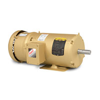 Baldor-Reliance Short-Series Brake AC Motor - 5