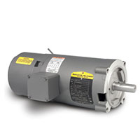 Baldor-Reliance Short-Series Brake AC Motor - 7