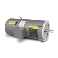 Baldor-Reliance Short-Series Brake AC Motor - 8