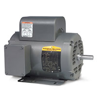 Baldor-Reliance Single Phase Open AC Motor - 4