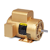 Baldor-Reliance Single Phase Open AC Motor - 5