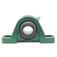 SXR Eccentric Collar Bearings Pillow Block, 2 Bolt