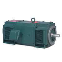 Baldor-Reliance 1.375 in. Shaft Diameter and 10.000 hp Power Rating DC Motor