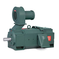 Baldor-Reliance 2.874 in. Shaft Diameter and 150.000 hp Power Rating DC Motor (D50150RS-BV)