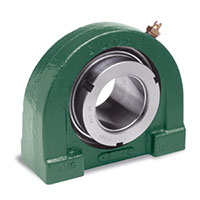 Air-Handling, Set Screw, D-LOK, or SXR Collar Tapped Base Pillow Block Flange Bearings
