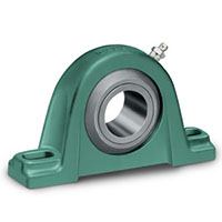 Air-Handling, Babbitt Journal, Solidlube, or D-LOK Pillow Block Bearings