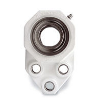 Flange Bracket Ez Kleen or D-Lok Concentric Clamp Collar Bearing
