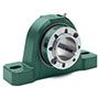 ISN Bearings Pillow Block, 2 Bolt