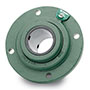 S-2000 Hd or Type E-XTRA Piloted Flange Bearings