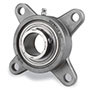 Ez Kleen Bearings Flange, 4 Bolt