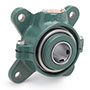 4 Bolt Double Interlock or Type K Flange Bearings